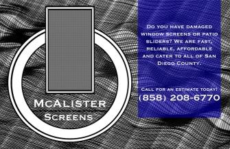 McAlister Screens Car Door Magnet