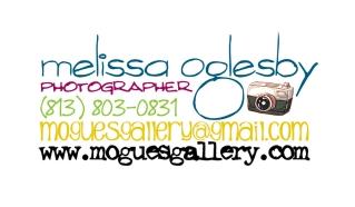 Melissa Oglesby Photography Biz Card FRONT