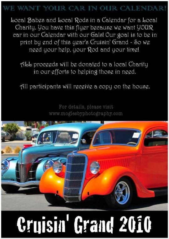 Cruisin' Grand Car Flier - WEB