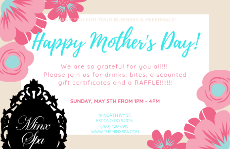 2019 Mother's Day Flier2